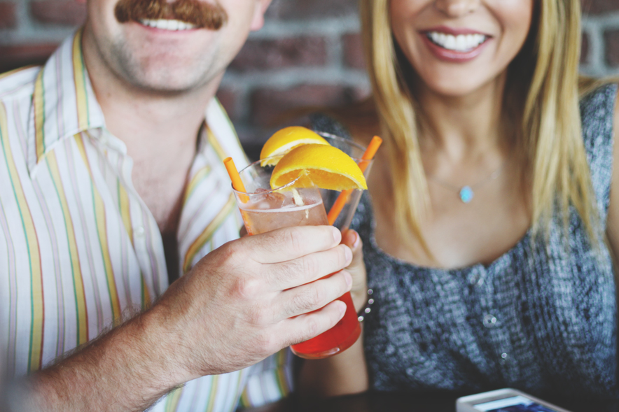 Cheers with Aperol Spritz at Aperol Brunch Society